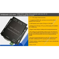 RS485 RS232  Modbus Gateway Industrial serial server 485 232  to Ethernet Modbus RTU to TCP/IP